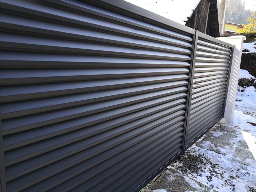Dvojkrídlová brána, bráničky a plotové dielce